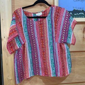EUC Maeve Anthropologie medium blouse